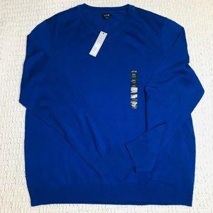 Apt. 9 Merino Wool Blend VNeck Sweater Men's XXL